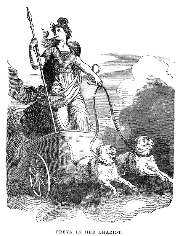 Frey in her chariot